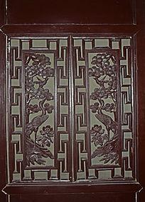 仙鹤木雕-木雕艺术