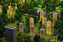城市住宅模型