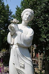 四大美女西施雕像