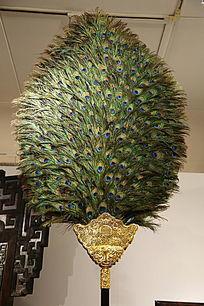 孔雀羽毛饰品