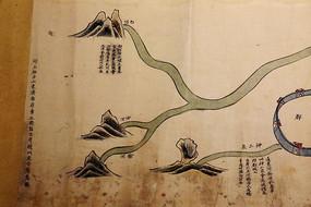 清代雍正版运河源流图