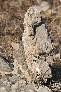 天然奇石正面照