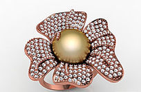 钻石珠宝戒指