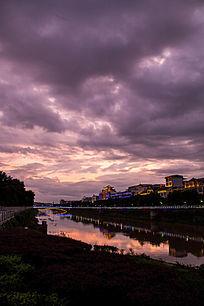 道县的晚霞和云彩