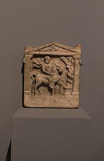 浮雕色雷斯骑士