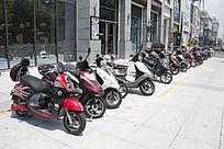 摩托停车场
