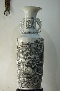 清明上河图花瓶