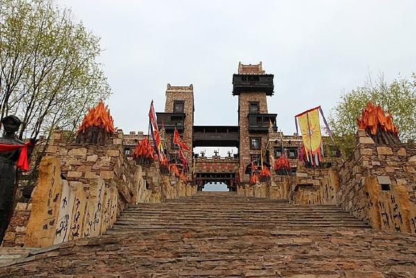 四川茂县古羌城