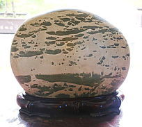 沼泽景观奇石