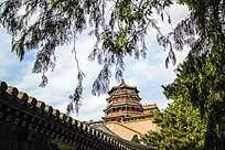 中国北 故宫建筑外部