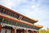 中国北京故宫建筑屋檐