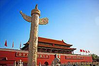北京天安门城楼华表