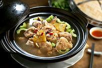 凤梨苦瓜鸡汤