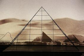 一带一路铁艺埃及金字塔