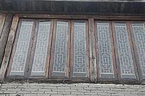 古典玻璃木窗