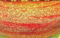 花卉瓷器纹理