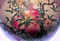 仙桃瓷器纹理