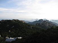 大山山脉自然风景图