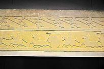 东汉骑士征战画像石