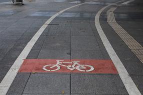 自行车道标志