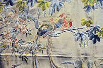 凤求凰刺绣