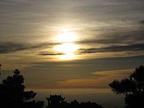 日出东方美景图片