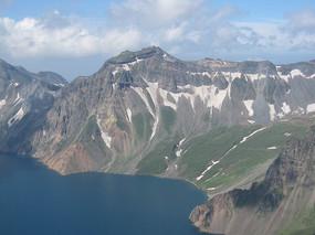 唯美山川湖泊自然风景图片