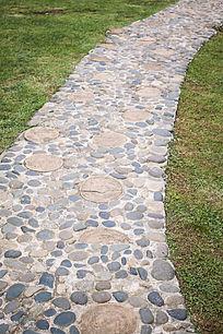 一条石头小路
