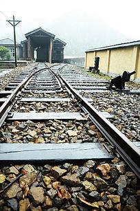 站前火车道木头火车道