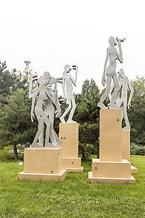 城市广场艺术造型