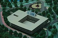 东莞理工学院松山湖校区文科楼模型