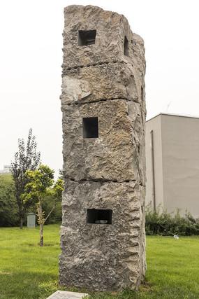 洞形石雕艺术