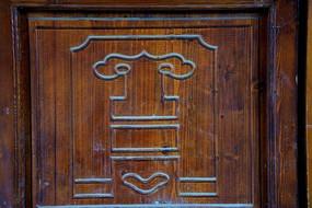 门装饰图案
