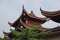 江南园林角楼