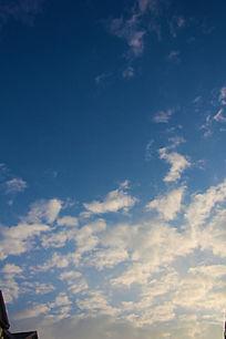 美丽的天空白云朵朵