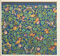 中国传统纹样 花卉装饰图案