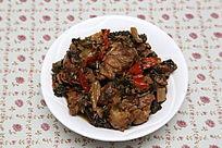 家常菜梅干菜烧肉