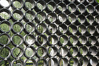 江南园林花砖窗