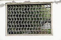 江南园林片瓦窗