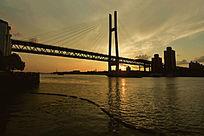 日落黄浦江