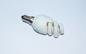 白色节能灯