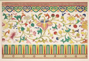中国传统纹样 花卉