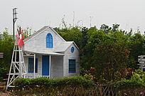 卡通童话房屋风景图片