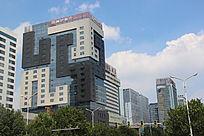 胜利街潍坊银行摄影图
