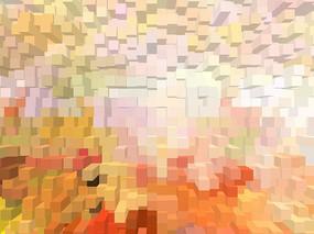 3D立体背景墙壁画