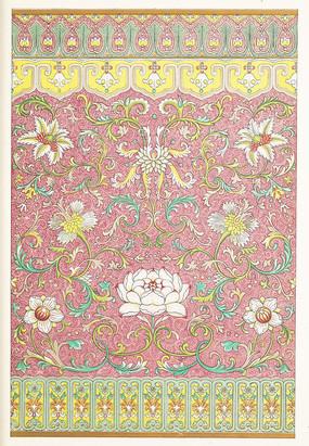 中国传统纹样 莲花