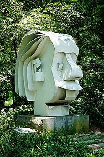 爱迪生艺术雕像