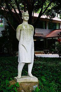 妇女工人雕像