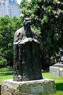 古代名人雕像