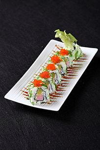 海草蟹子饭团